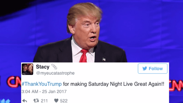 It didn't take long for the #ThankYouTrump 'Twitter rally' to go completely off the rails.