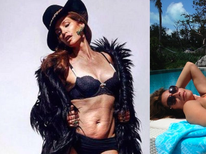 """That """"unretouched"""" photo of Cindy Crawford was actually extremely """"touched"""" and fake."""