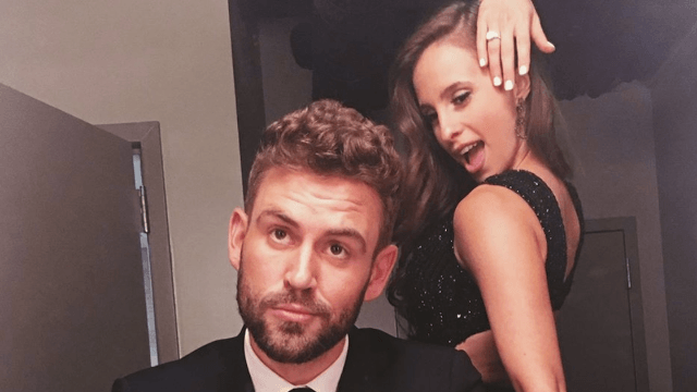 The engagement ring Nick gave Vanessa has been on a 'Bachelor' show before.
