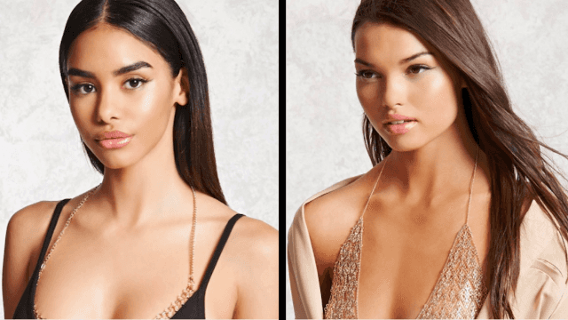 The 'chain bra' is the confusing fashion accessory that has us wondering, 'Now how does this work?'