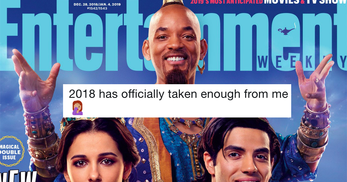 The first look at Will Smith as the genie in 'Aladdin' has