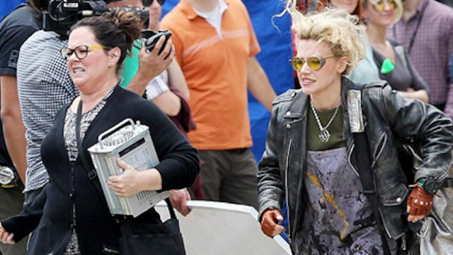 "The first set pictures from the female ""Ghostbusters"" movie will make you even more excited."