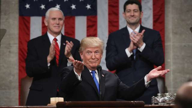 President Trump To Deliver His First State Of The Union Address