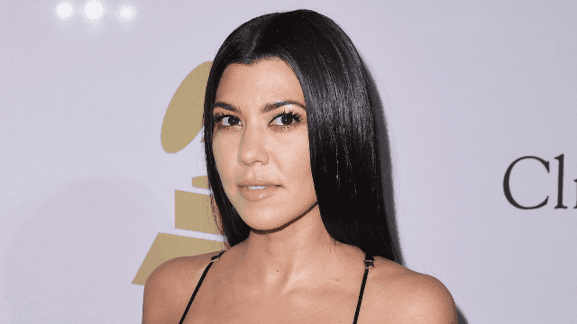 The internet is baffled by Kourtney Kardashian's latest Instagram.