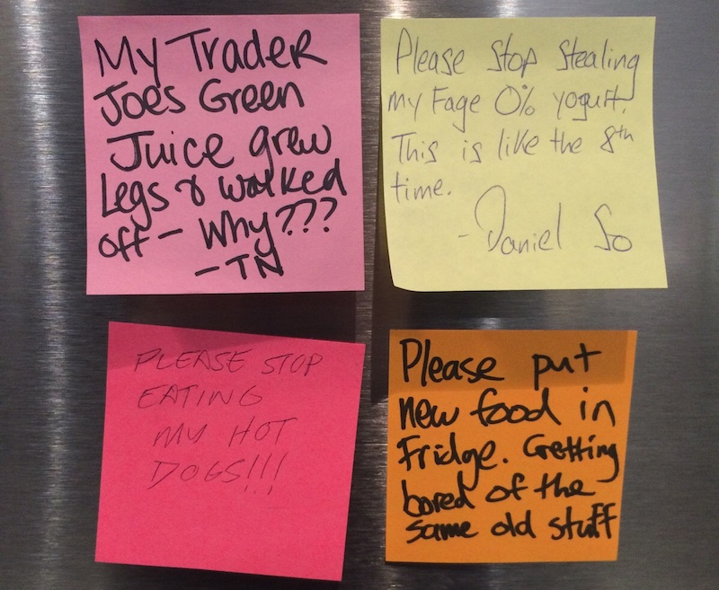 The most enjoyable and/or cranky notes ever posted in the workplace.