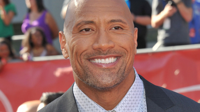 The Rock's new movie poster has a technical glitch and everyone's roasting the hell out of it.