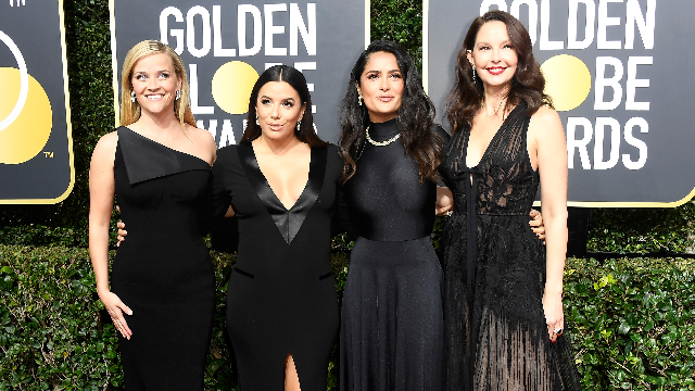 The 9 most woke, important, and confusing Golden Globes red carpet moments.