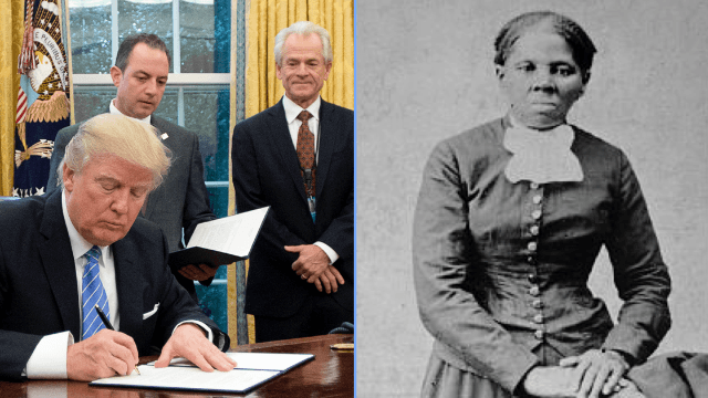 The Trump administration is coming for Harriet Tubman now, too. People aren't having it.