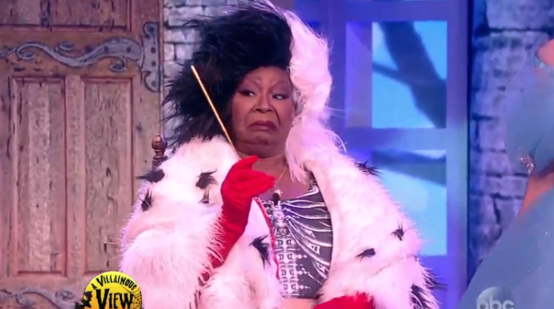 The ladies of 'The View' dressed up as Disney villains, and it suited them all too well.