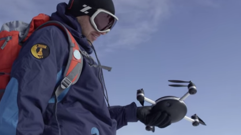 There's now a drone that will follow you around like a puppy and film your day.