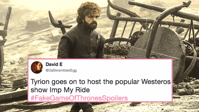These fake 'Game of Thrones' spoilers transform the show into a comedy.