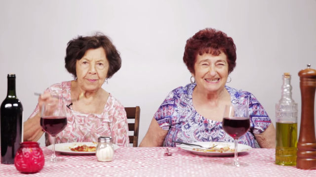 These Italian Grandmas Tried Olive Garden For The First