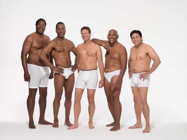 These 10 men stripped down to their underwear to make no point at all.