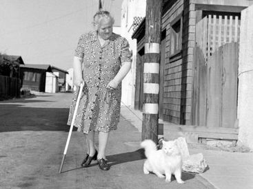 These seeing-eye cat photos from 1947 made us re-think cats.