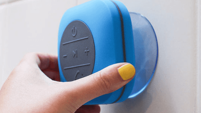 This $20 bluetooth shower speaker will make mornings fun again.