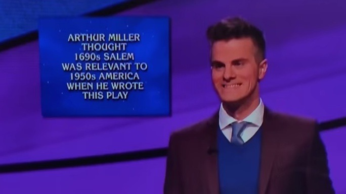 "For $500: ""The sassiest Jeopardy contestant of all time."" Answer: ""Who is this guy?"""
