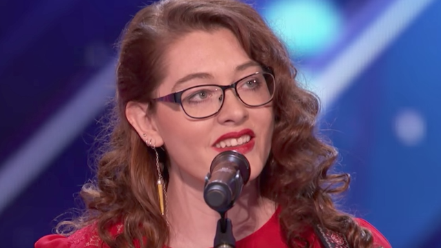 This deaf singer's gorgeous 'America's Got Talent' performance is weep-inducing.