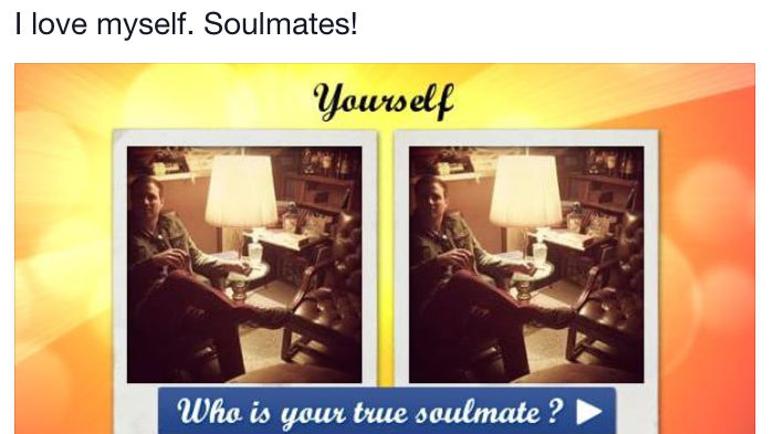 This new Facebook soulmate quiz has gone very, very wrong... or very right?