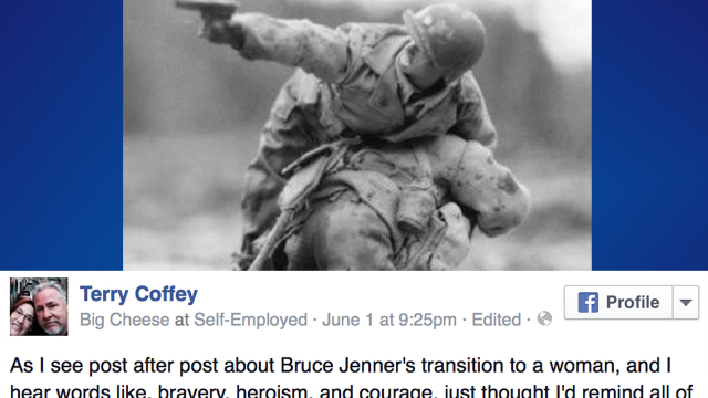 A Caitlyn Jenner critic changed his mind after learning the surprising truth about this photo.