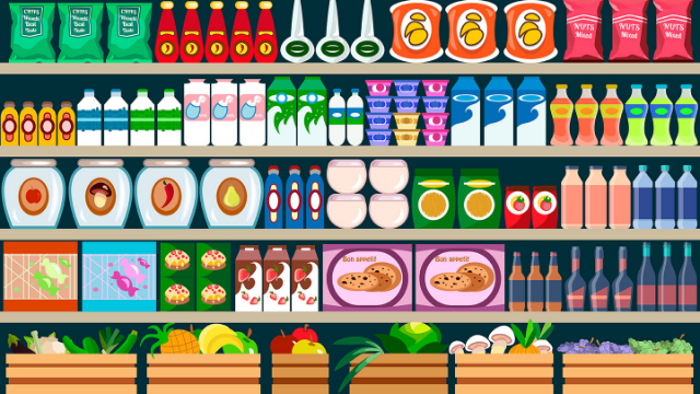 This Infographic Shows How 10 Companies Own All The World's Food Brands.