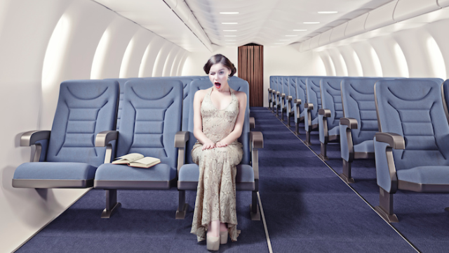 This is where you should sit on a plane if you want an empty seat next to you.