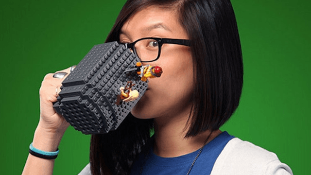This Lego-Style Coffee Mug Is Here To Make Your Mornings More Fun.