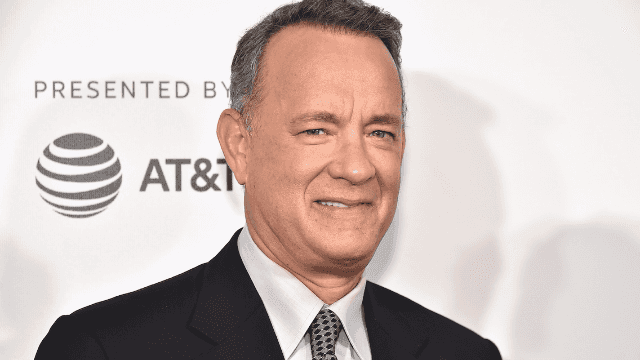 This photo Tom Hanks posted to Twitter is giving everyone the creeps.