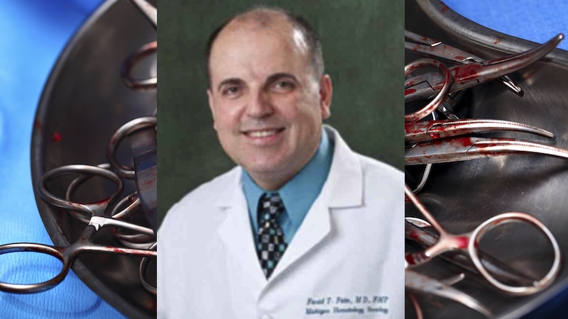 This millionaire doctor is going to jail because he told healthy patients they had cancer.
