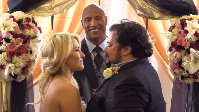 You'll be surprisingly touched by this sweet surprise The Rock had for his friend.