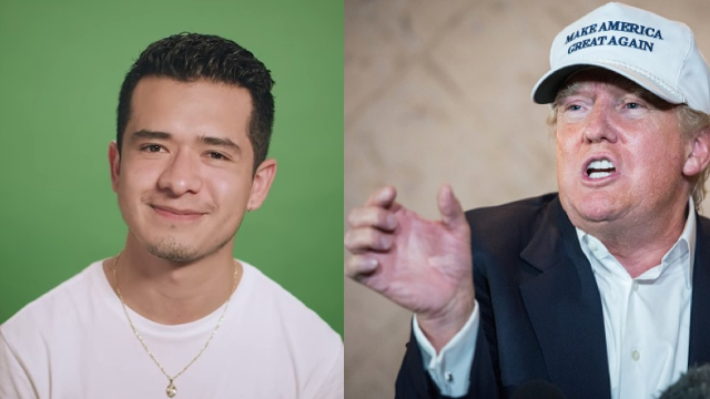 This undocumented Mexican immigrant works for a very surprising person: Donald Trump.