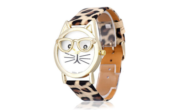 This watch is the cat's meow.