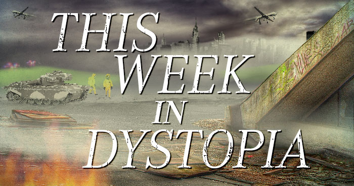 This Week In Dystopia: Drones, Ebola, and Emma Watson.