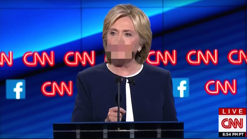Did you miss Hillary Clinton saying f*** during the debate? Kimmel has you covered.