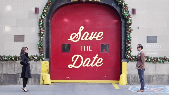 This Wes Anderson-inspired save the date video is the twee-est thing you'll ever see.