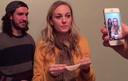 This woman eating a slice of turkey in under one second is breathtaking.
