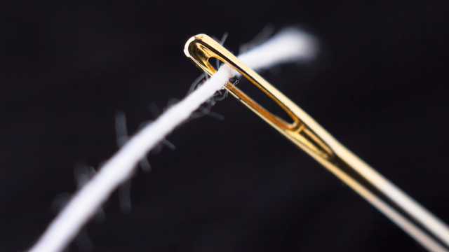 You've been threading needles wrong your whole life.