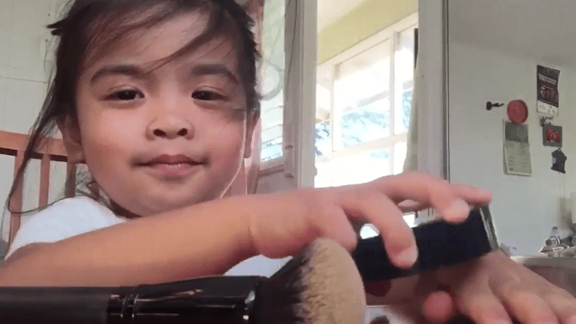 The only makeup tutorial you need is the fake one made by this incredible 3-year-old.