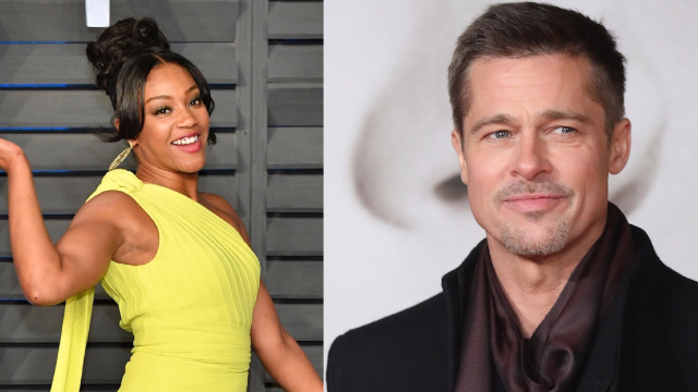 Tiffany Haddish 'asked out' Brad Pitt and he said yes, with one condition.