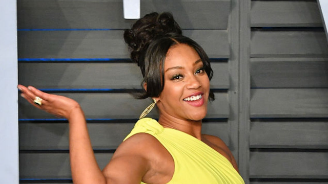 Tiffany Haddish was just joking about dating Brad Pitt