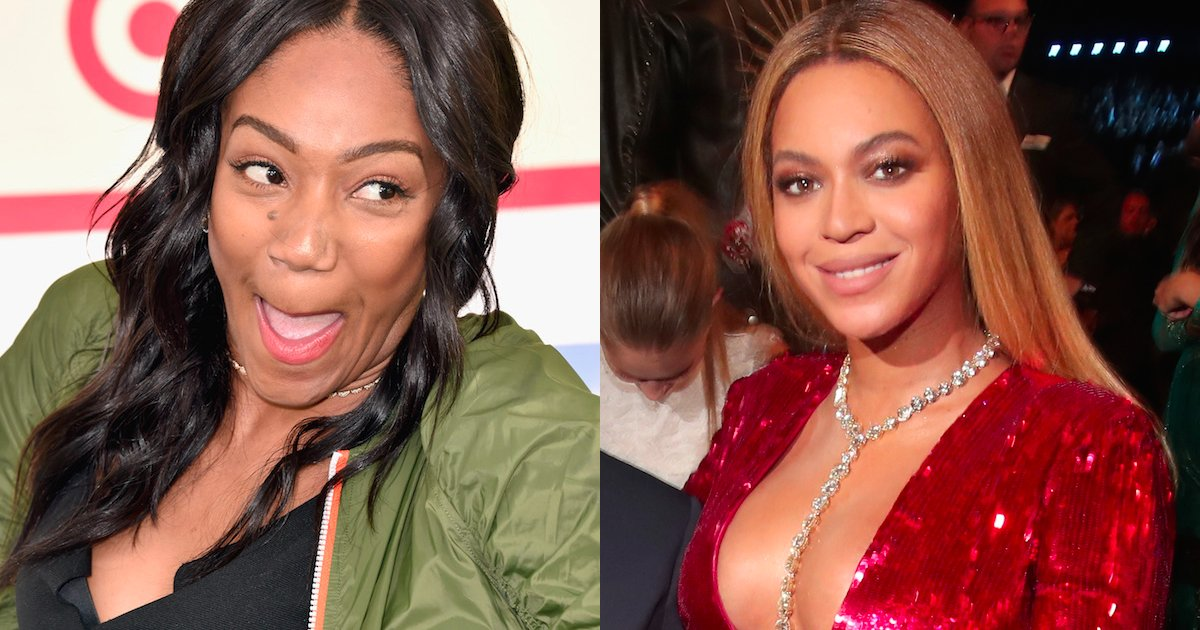 Tiffany Haddish proves Roseanne's racism and finally reveals who bit Beyoncé.