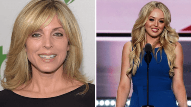 Marla Maples and Tiffany Trump just got busted trying to pay a hairstylist with 'exposure.'