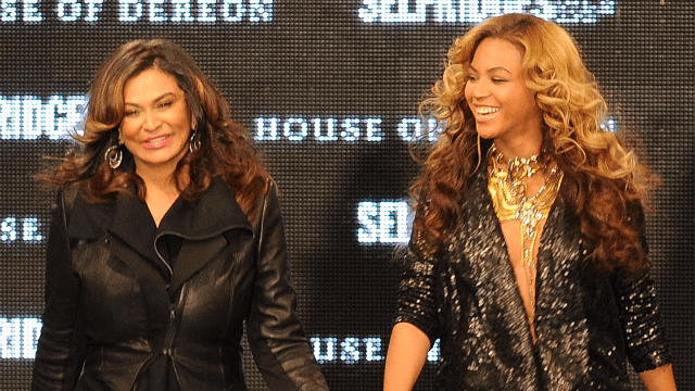 Tina Knowles just shut down haters with a photo of Beyoncé's hair.