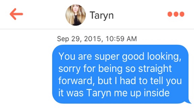 17 times Tinder users decided making a name pun would be a good opening line.