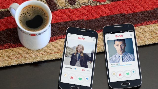 This woman is using Tinder to hook men up with something more important than sex.