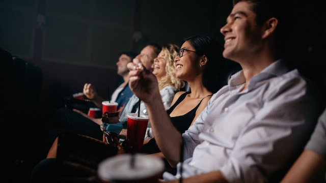 20 people share the funniest things they've heard yelled in a movie theater.