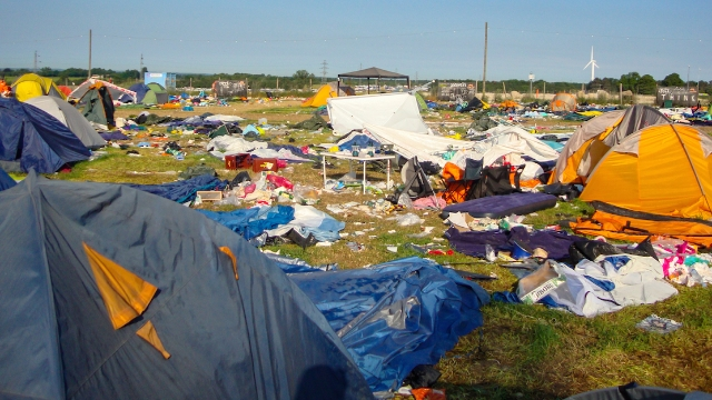 20 people who clean up after music festivals share the weirdest things they've found left behind.