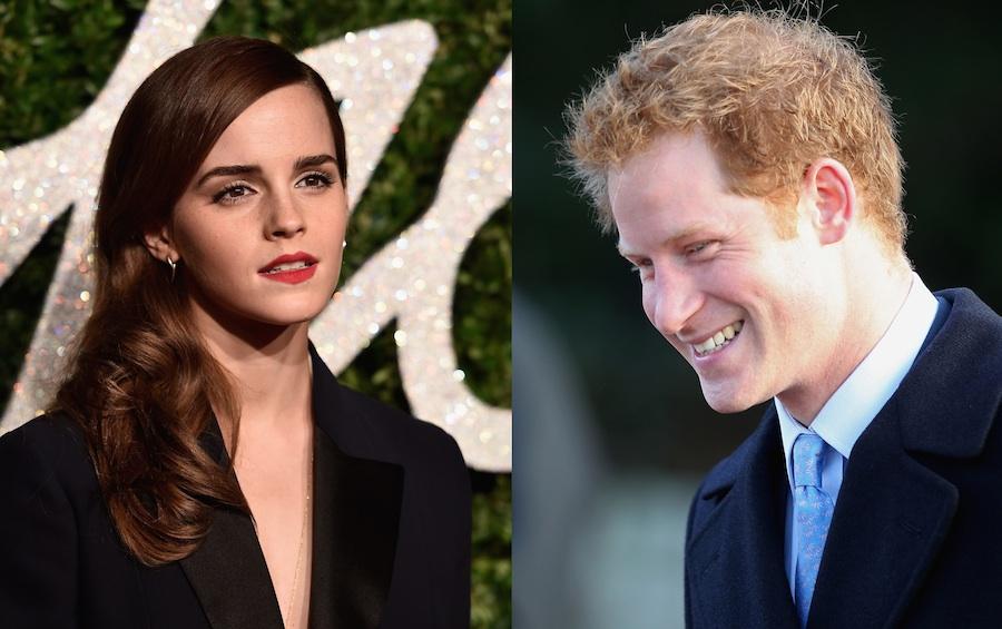 Emma Watson finally dates a world-famous dude named Harry. Maybe.