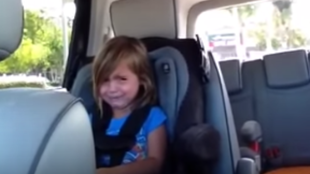 This toddler with a major celebrity crush on Adam Levine is anguished to learn he's married.