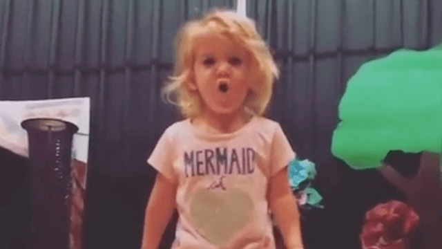 This toddler's soulful rendition of the ABCs went viral.
