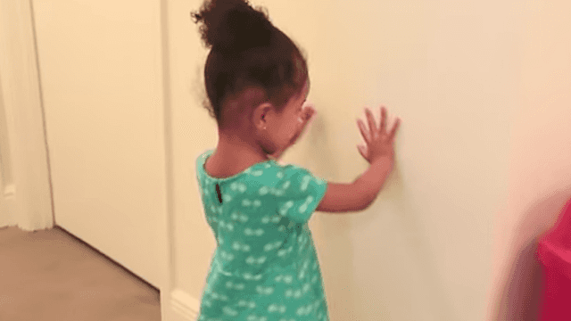 Toddlers suck at hide-and-seek. This dad's adorable home video is Exhibit A.